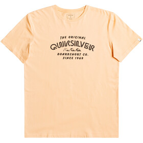 Quiksilver Wider Miless SS Tee Men apricot